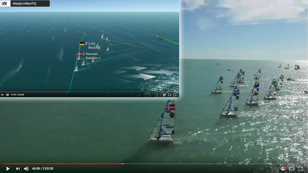 MANGE TIMER: TV2 har valgt ut seiling som en av sine prioriterte idretter i OL, og det vil bli sendt atskillige timer direkte i 11 dager.