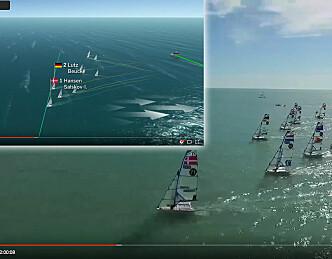 TV2 sender seiling direkte hver dag