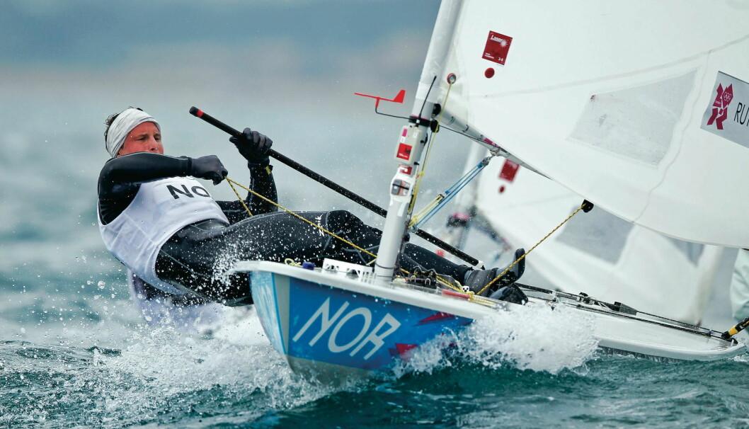 OL-PROGRAMMET: Her er programmet over når Kristian Ruth og de andre norske seilerne skal seile i OL.