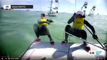 OM BORD: Det vil også trolig bli montert kameraer om bord i båtene i noen race.