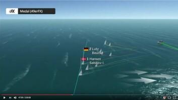 GRAFIKK: Alle båtene vil ha tracking som vil bli vist i forklarende grafiske bilder.