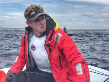 Hermann Tomasgaard leder etter to seilaser