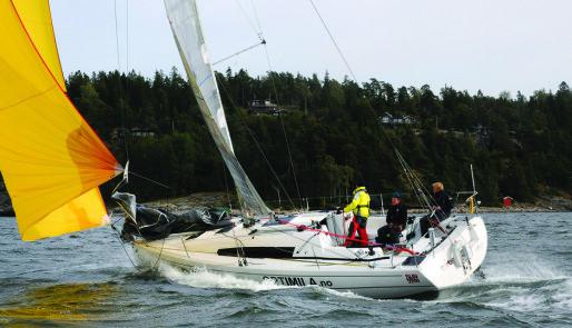 Test av autopiloter for regattaseiling