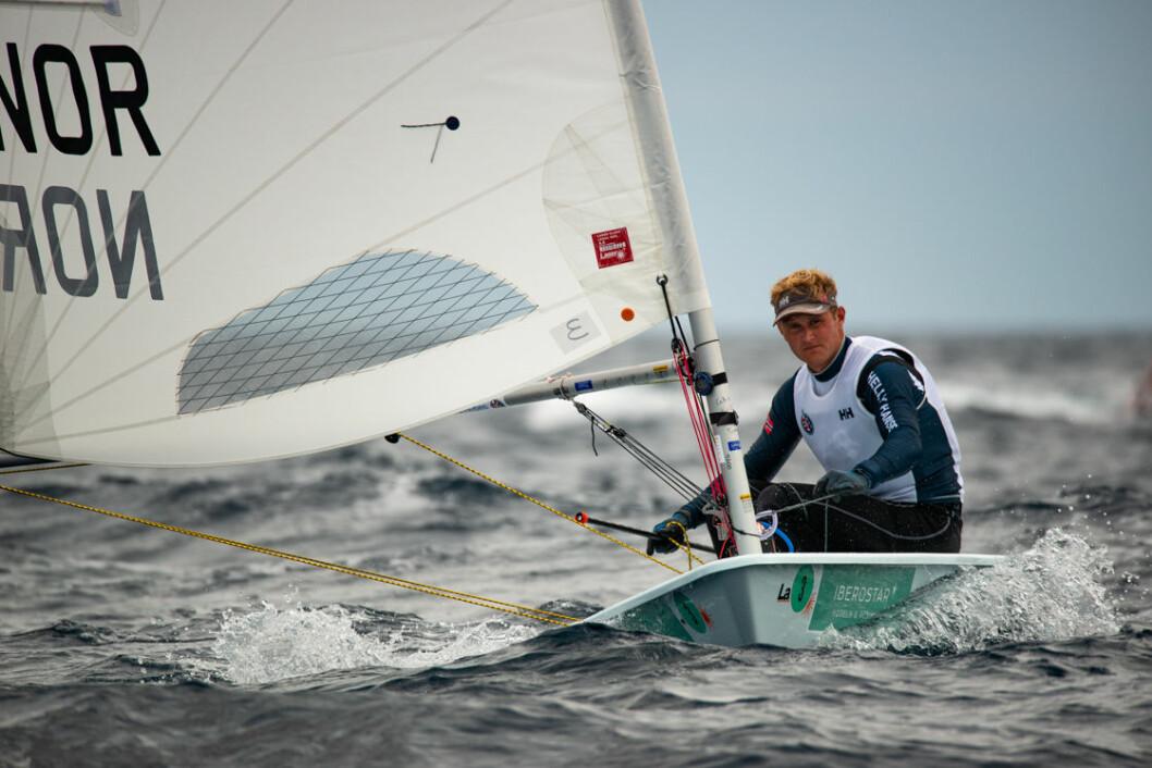 Hermann Tomasgaard leder stadig i Laser