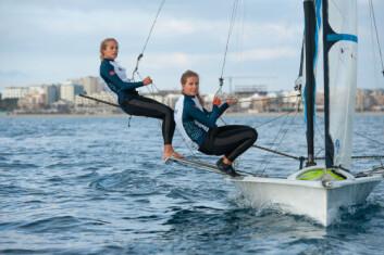 Helene Næss og Marie Rønningen