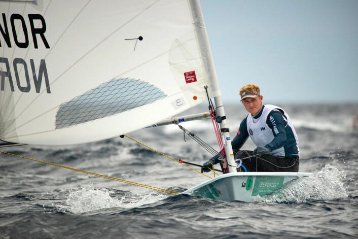 ENER: Hermann Tomasgaard er i verdenseliten i Laser.