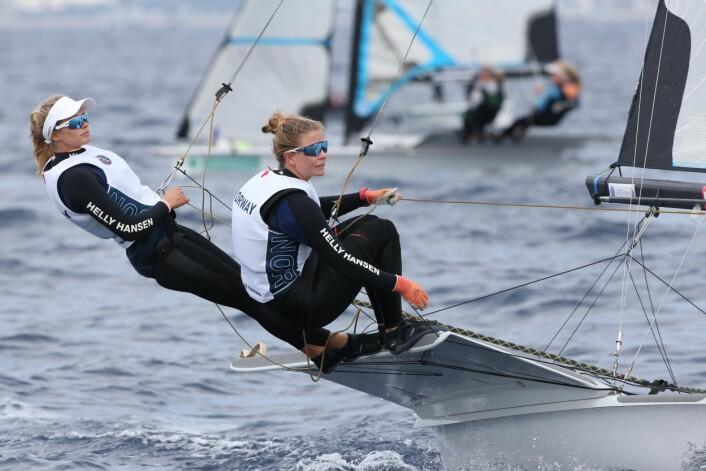 Helene Næss og Marie Rønningen tok 4. plass på Palma