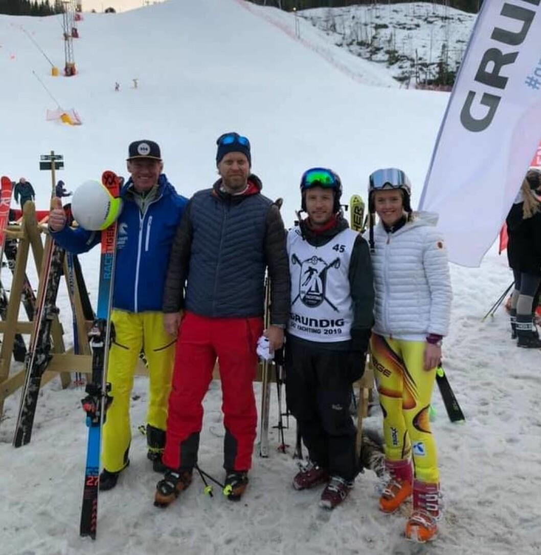 SKI OG SEIL: Wolfpack-laget vant Grundig ski-yachting.