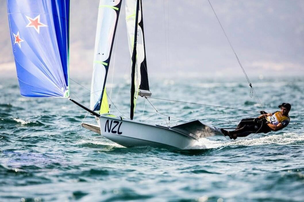 BEST: Burling og Tuke leder OL uten å seile særlig raskere enn sine konkurrenter.
