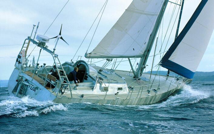 SOLID: Aluminiumsbåten «Gyda» fikk bare bulkerf etter å ha blitt truffet av kuler fra piratene.