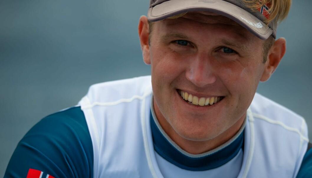 OL-HÅP: Hermann Thomasgaard er medaljekandidat i Laser-klassen.