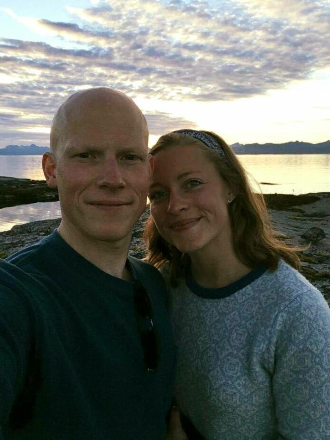LANGTUR: Andreas Lundbø og Charlotte Bjørvik Bratsberg skal på langtur. Avreise er sommeren 2019.