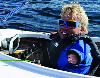 Bjørnar Erikstad stjerne i seilprogram