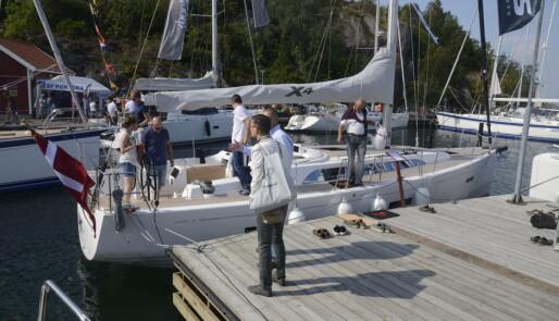 X4 fra X-Yachts på vei til Norge