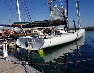 Norsk seiler i knallhard konkurranse
