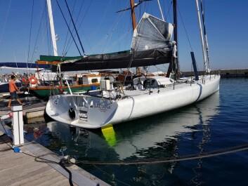 IMOCA: «Rosalba» ble bygget i 2002, og blir nå kraftig oppgradert før 2019-sesongen. Båten har tildligere seilt under navnet «Artemis» og «Pindar».