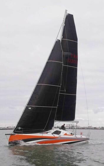 EKSTREM: Sun Fast 3300 er den mest ekstreme av de nye båtene. Den skal ha et skrog som kommer tidligere i plan.