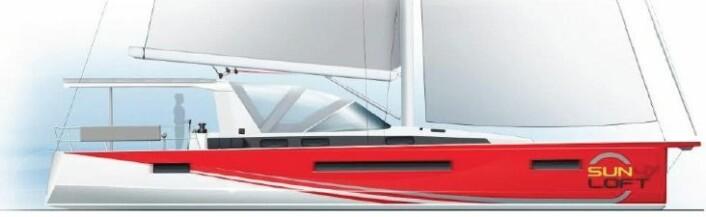 NYTT: Jeanneau skal gjøre enskrogsbåter mer attraktive i chartermarkedet.