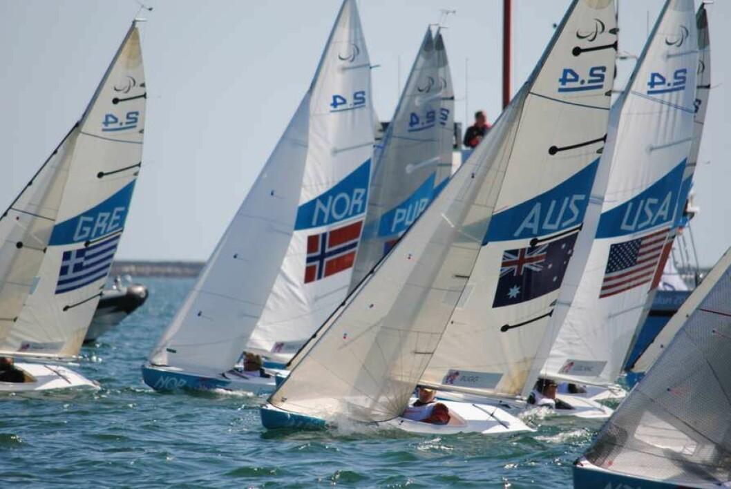 PARALYMPICS: I dag starter paralympicsseilasene for de norske seilerne i Rio de Janeiro.