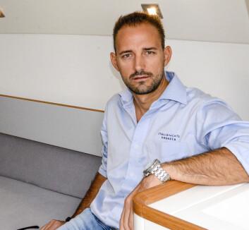 DESIGN: Matteo Polli har vunnet VM i ORCi to ganger med Italia 9.98. Han har også optimalisert båter for reglen.