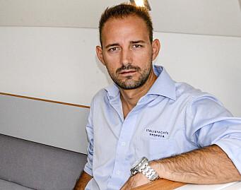 DESIGN: Matteo Polli har vunnet VM mange ganger. Han står bak de fleste av båtene fra Italia Yachts, og har også tegnet den nyeste båten fra Grand Soleil.