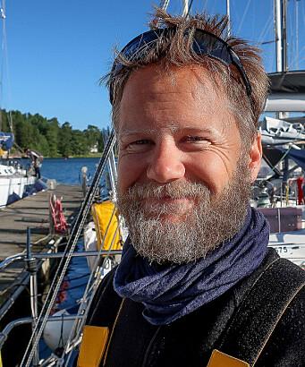 BYTTER: Sigmund Hertzberg ønsker å bytte sin 40-foter til en mindre båt.