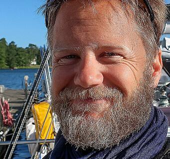 BÅTKJØPER: Sigmund Hertzberg har store ambisjoner med sin nye Sun Fast 3300.