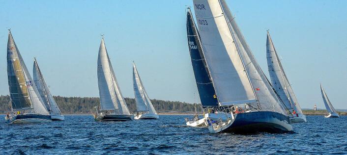 SNUDD: Det er alt flere båter påmeldt for Skagen Race i år enn i fjor, selv om det er flere uker til start.