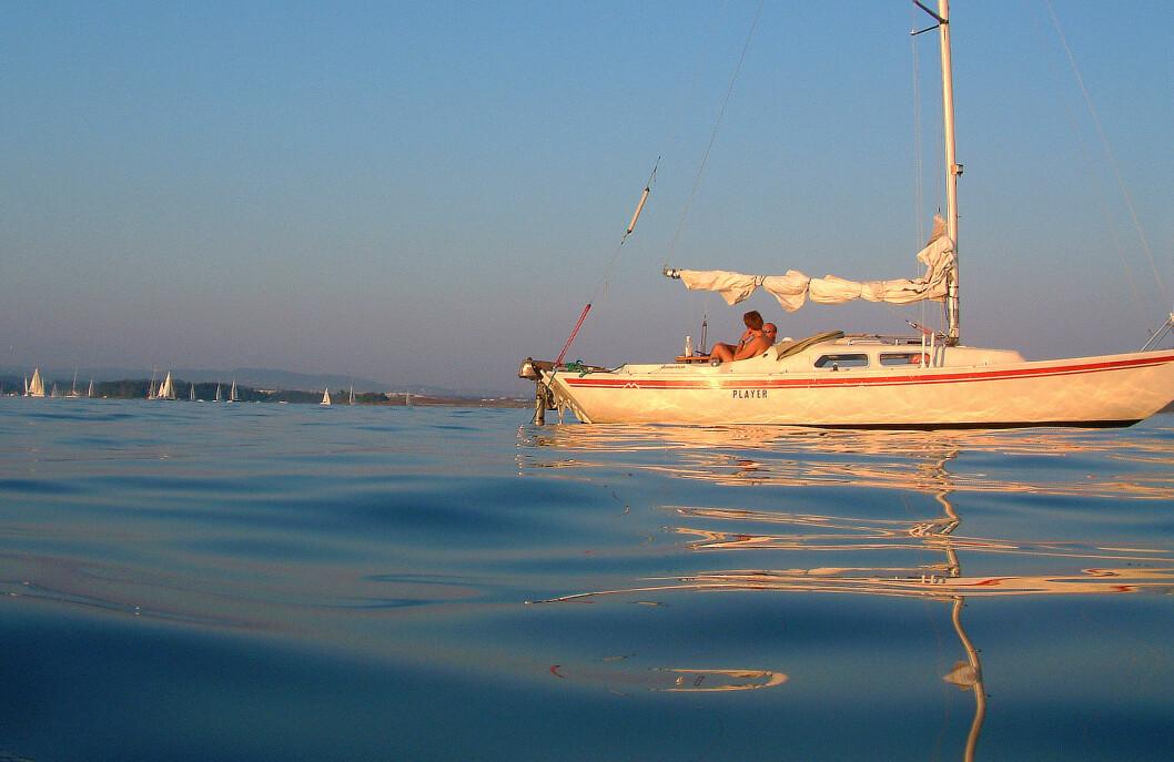 IDYLL: Det enkle liv på sjøen er blitt billig. Det kan også gi lykke.
