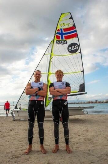 Mads og Tomas Mathisen klare for EM.