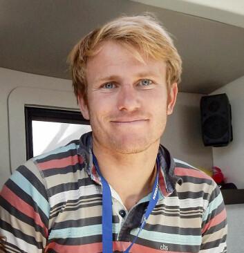 KLAR: Francois Gabart er klar for å sette nye rekorder. Først i Middelhavet.