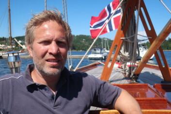 EKSPERT: Peter Ennals startet tidlig med å pusse opp trebåter.