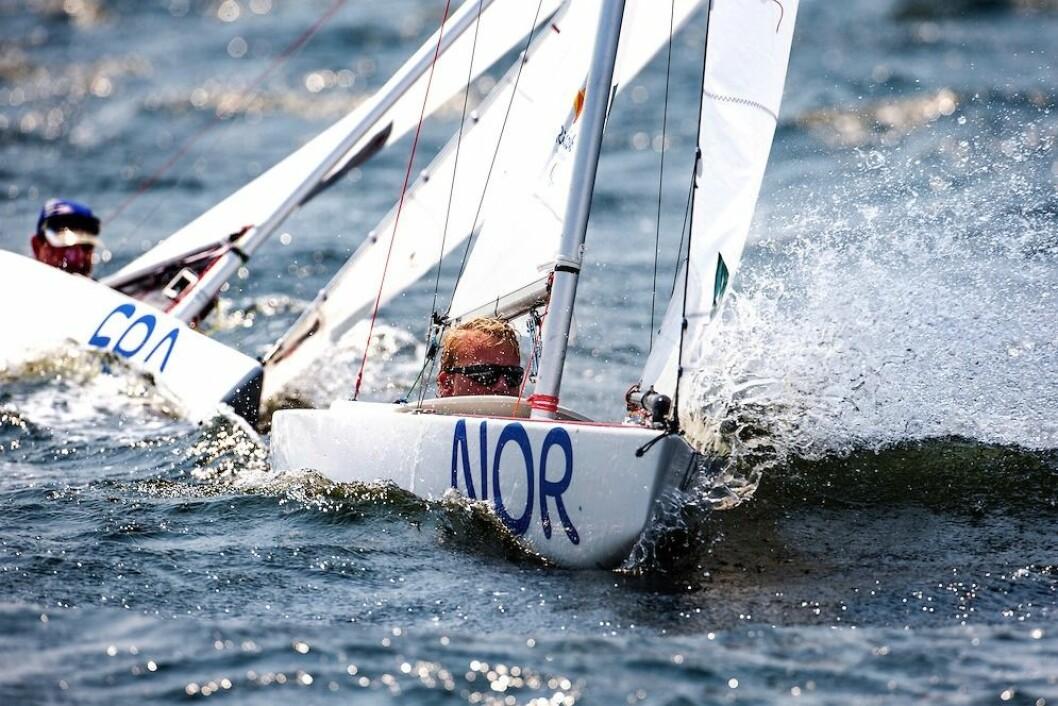 5. PLASS: Bjørnar Erikstad kom på 3. plass i den siste seilasen og med den seilte han seg opp til 5. plass i paralympics.