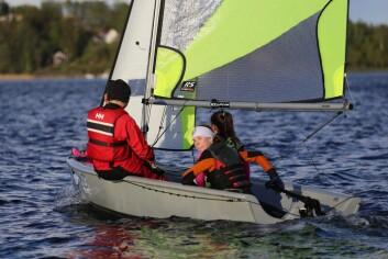 FEVA: Det handler mer om å ha det hyggelig på sjøen, enn å seile fortest mulig.
