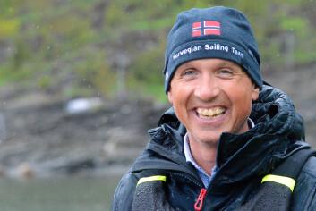 IMOPNERT: Per Christian Bordal var på Nesøya for å lære.