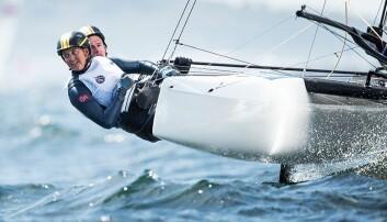 Nicholas Fadler Martinsen og Martine Steller Mortensen i GM 2019 - Weymouth