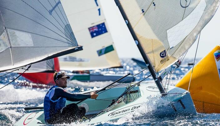 Anders Pedersen - OL klar og med fin fart i Kiel