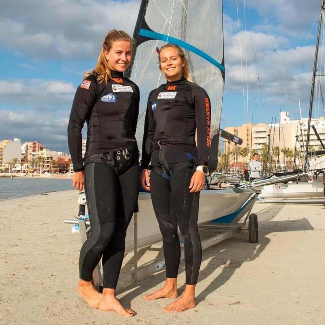 Marie Rønningen og Helene Næss