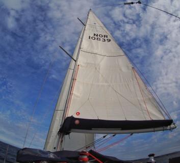 Full seilføring fra Uttoskevågen til Florø