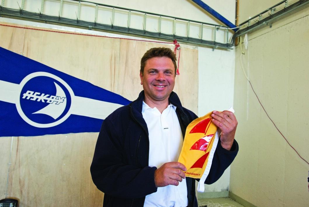 ALLE: Kjell Ove Klungrehaug er den eneste som har fullført alle utgavene av SPZ Seilmakeren Doublehanded.