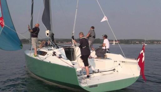 Oppsiktsvekkende båter i Skagen Race
