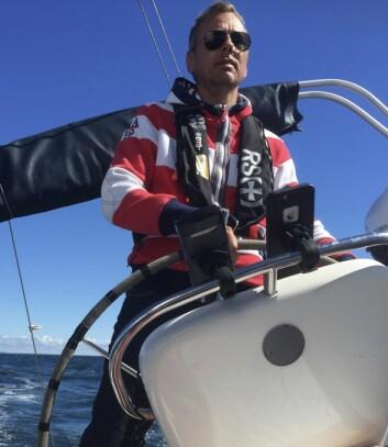 TURSEILER: Are Hauger har lang fartstid i Skagen Race.