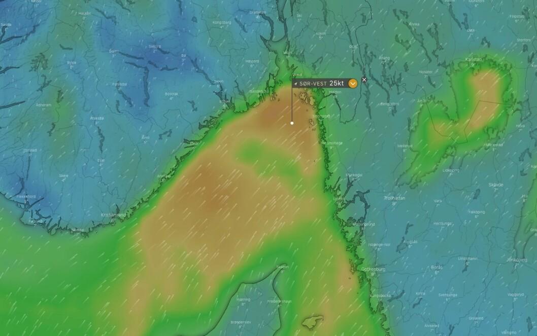 KULING: Det blir en tøff start på Skagen Race onsdag kveld, og det blir ikke bedre at det vil starte å regne torsdag morgen.