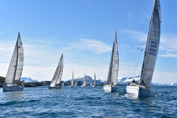 SHORTHANDED: Nordland Offshore er den viktigstehavseilasen i Nord Norge, og samler i år 20 båter fra Nordland og Troms.