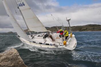 BAVARIA: Av de 20 påmeldte båtene, er fem Bavariaer, som er den mest populære båttypen.