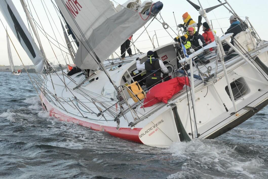 RASK: «Galactic Viking» bør knuse Shetland Race-rekorden med gunstige forhold.