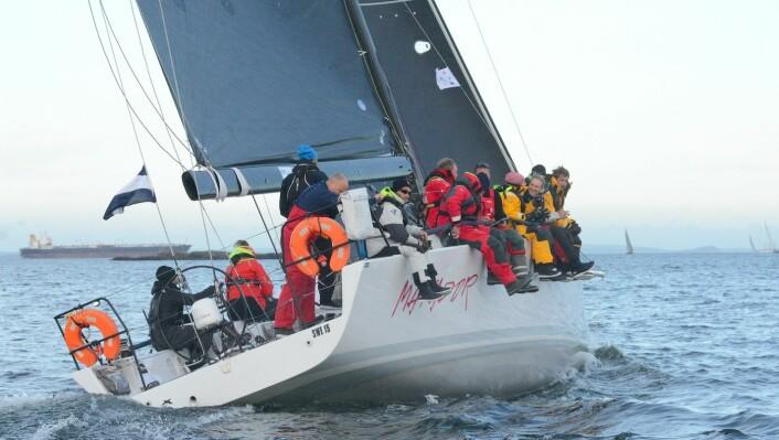 RASK: Svenske «Matador» har seilt Sydney Hobart Race, og kan få en god plassering i Skagen Race.