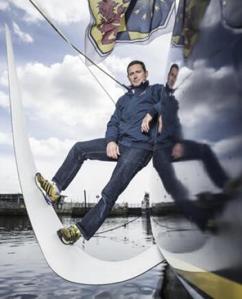 Sebastien Josse seiler med foiler.
