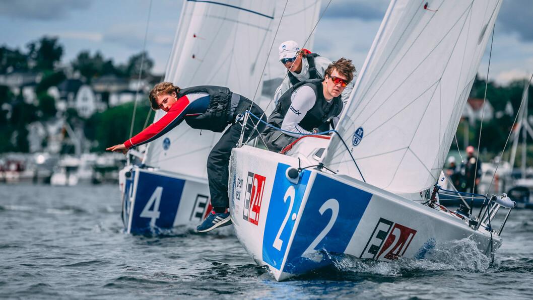 LIGASTART: 1. pinsedag starter seilsportsliga-sesongen i Oslo. Nye regler gjør det mulig å ri båten mer aktivt.