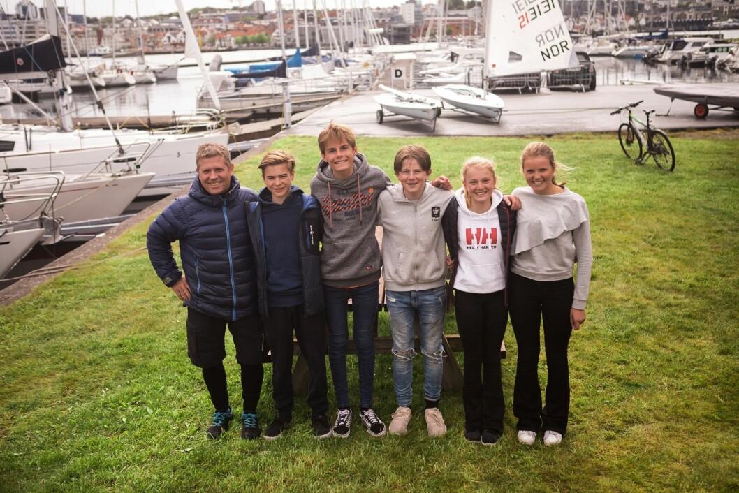Norge lag VM Optimistjolle 2019